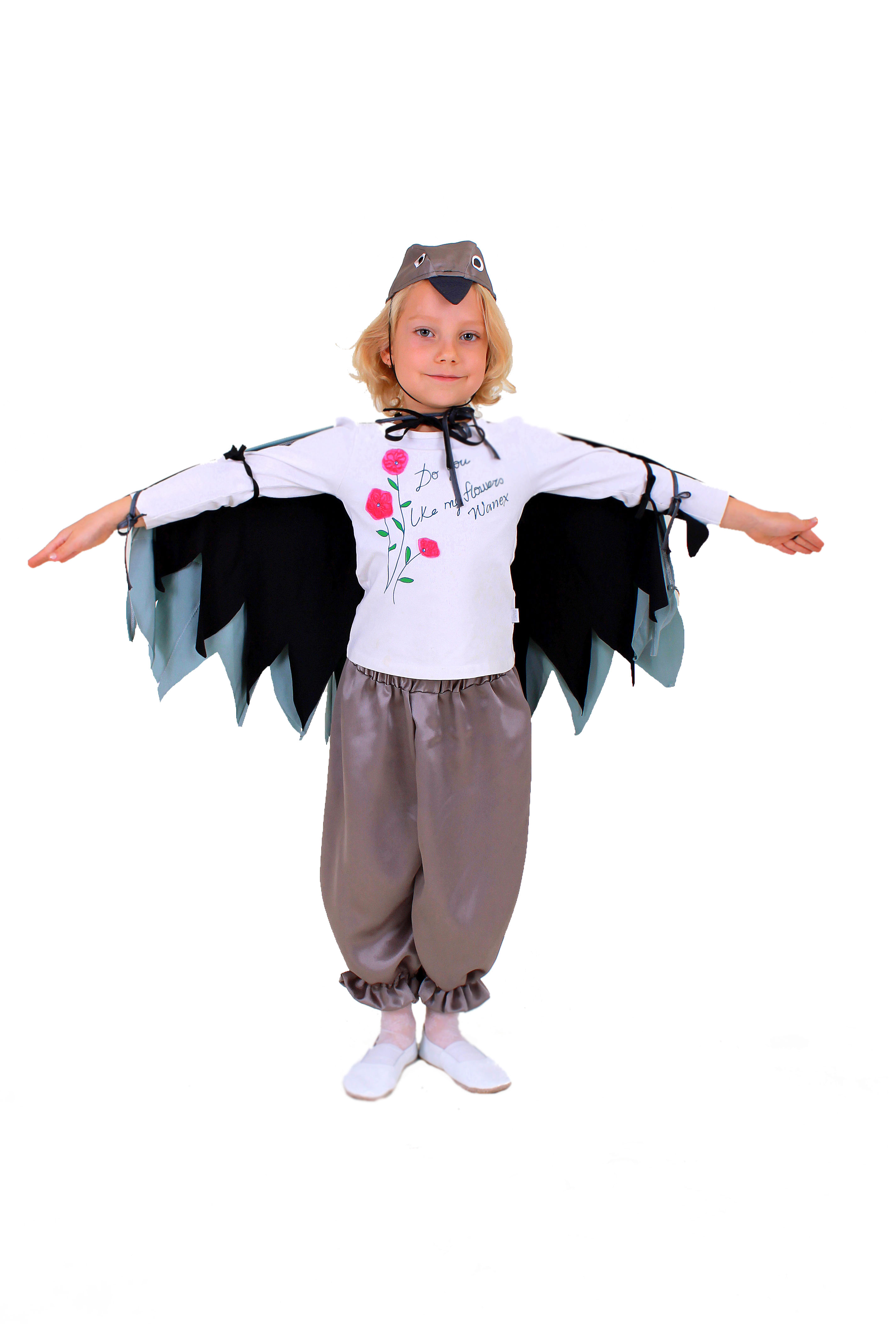 Костюм ворона своими руками фото