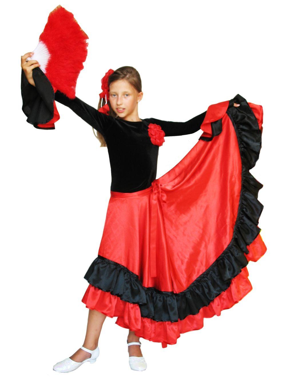 Как сшить испанскую юбку для девочки 68